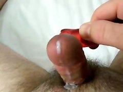 Using Red Clit Vibe To Make A Nice Cumshot