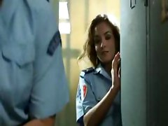Horny Policewomen Get Wild In Locker Room