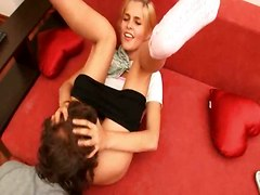 Teens Pastime With Mature Dude