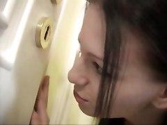 Horny Teen Sneaks Ibnto Bathroom To Get Fucked
