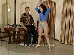 Slave Girl Is Chained And Whipped