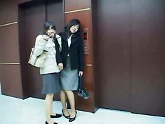 Drunk Business Girl Fucked In Elevator Part 1