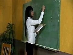 Busty Teacher Anal On Desk