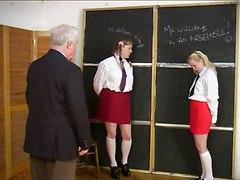 Naughty Schoolgirl Caning