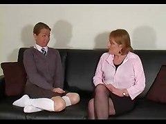 Dirty Schoolgirl Knickers