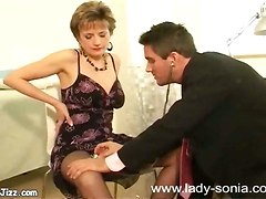 Horny Milf Visits A Doctor