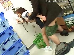 Asian Public Fuck In Supermarket