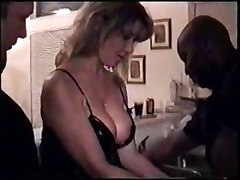 Another Slut Wife Gets Gangbanged And Creampied