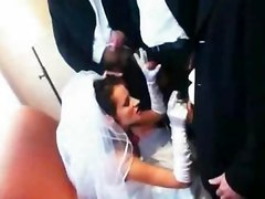 Wedding Day Gangbang For The Lucky Bride