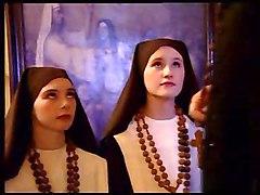 2 Teen Nuns Fuck A Priest