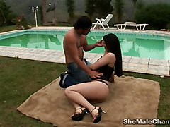 Slender Thais Outdoor Fun