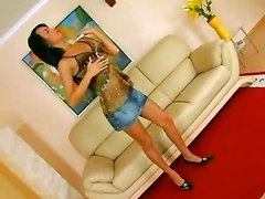 Stunning Brunette Babe Private Show