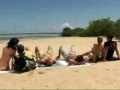 Little Fuck On Beach