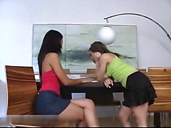 Teens Anal Strapon Games S88