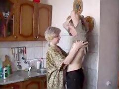 Blowjob In Kitchen