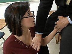 Let Your Teacher Fuck Your Good Tits, Girl!
