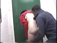 Real Couple Fucking In A Public Toilet