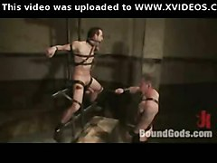 Bdsm Gay Torture In The Dungeon