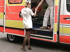 Cute German Anja Laval Having Sex In Ambulance