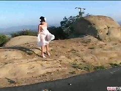 Hot Threeway With Vampy Bride