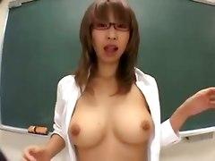 Japanese High School Tit Job Class