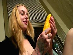 Gothic Mothra Girl - Chicken & Corn For Crazy Babe