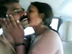Indian Couple Fucking Very Hardly In Car