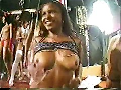 Miss Big Ass Party Gangbang Brazil 2 - African Facial Dildo