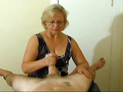 Mrs. Watson Gives Another Great Handjob