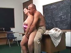 Fleshy Mom Experiences Teacher&039;s Huge Cock