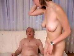 Teen Slut Fucks Old Man!
