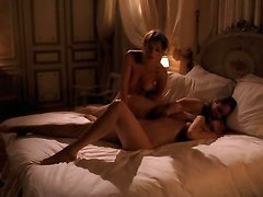 Softcore Lesbian Bed Scene