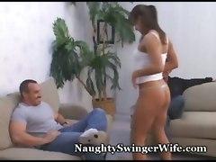Swinger Wife Fucks Stranger