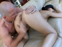 Blindfold And Crazy Anal Drilling