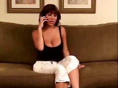 Busty Latina Relieves Stress On Friends Boyfriend