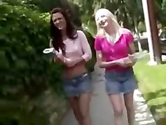 She Introduces Her Friend Into The Lesbian Sex!!!.