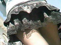 Pantyhose Upskirt(strumpfhosen Und Minirockpussys