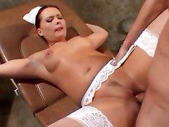 Nurse Katja Kassin Gets Her Holes Filled
