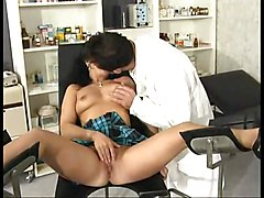Fantastic Euro Milf Fucking At The Doctor\s
