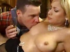 Sexy French Glamour Girl Double Penetrated