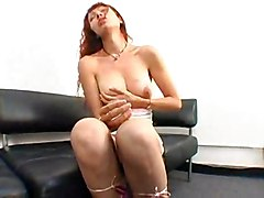 Redhead Beauty Gets Deep Insertions