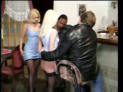 The Blonde Cock Buster